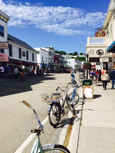 Mackinac town